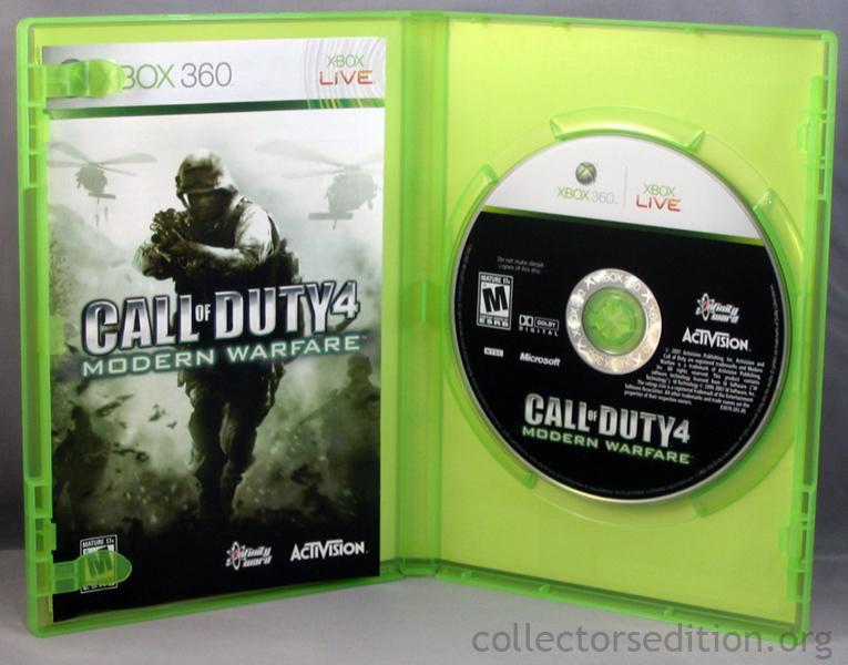 Call Of Duty 4 Modern Warfare Xbox 360 - specificationdig