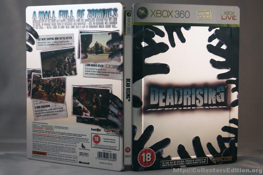 Dead Rising Map Locations on