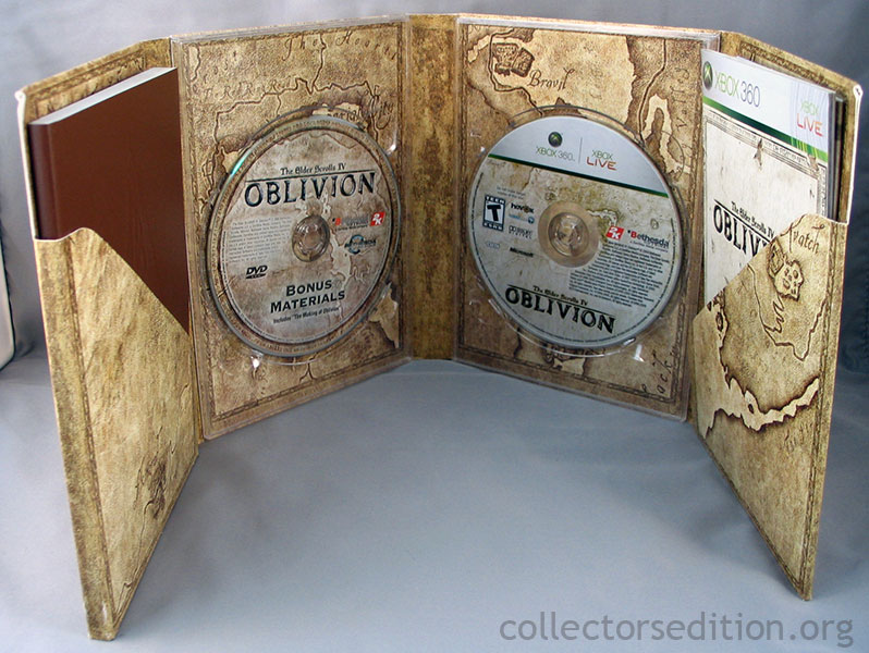 Collectorsedition. Org » the elder scrolls iv: oblivion collector's.