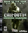 Call of Duty 4: Modern Warfare Game of the Year Edition (PS3) [BRD-1]