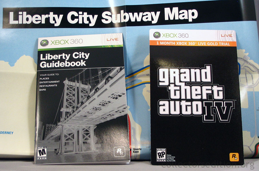 Gta4 Subway Map.Collectorsedition Org Grand Theft Auto Iv Special Edition 360 Ntsc