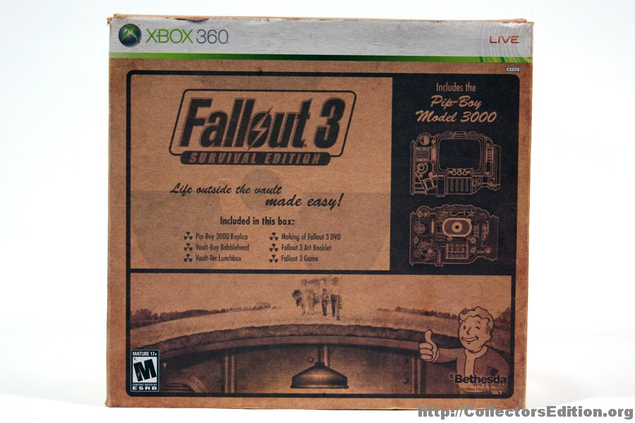 CollectorsEdition org » Blog Archive » Unboxed: Fallout 3
