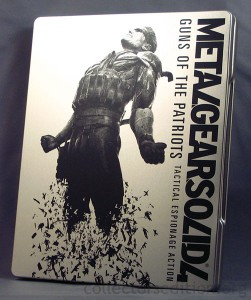Metal Gear Solid 4: Guns of the Patriots Limited Edition SteelBook