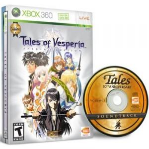 Tales of Vesperia Premium Edition Xbox 360 NTSC