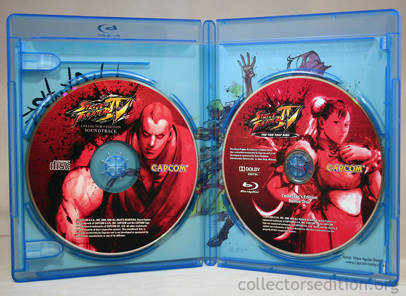 Street fighter 4 collector edition movie
