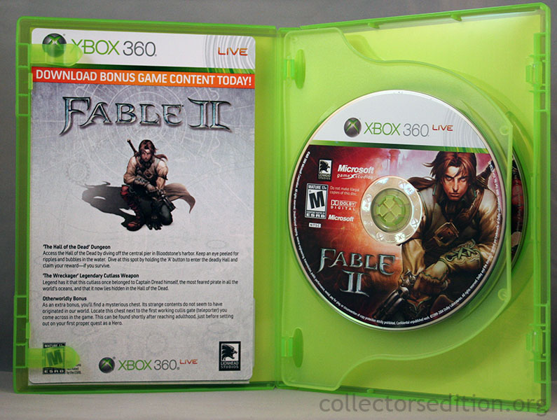 CollectorsEdition org » Fable II Limited Collector's Edition