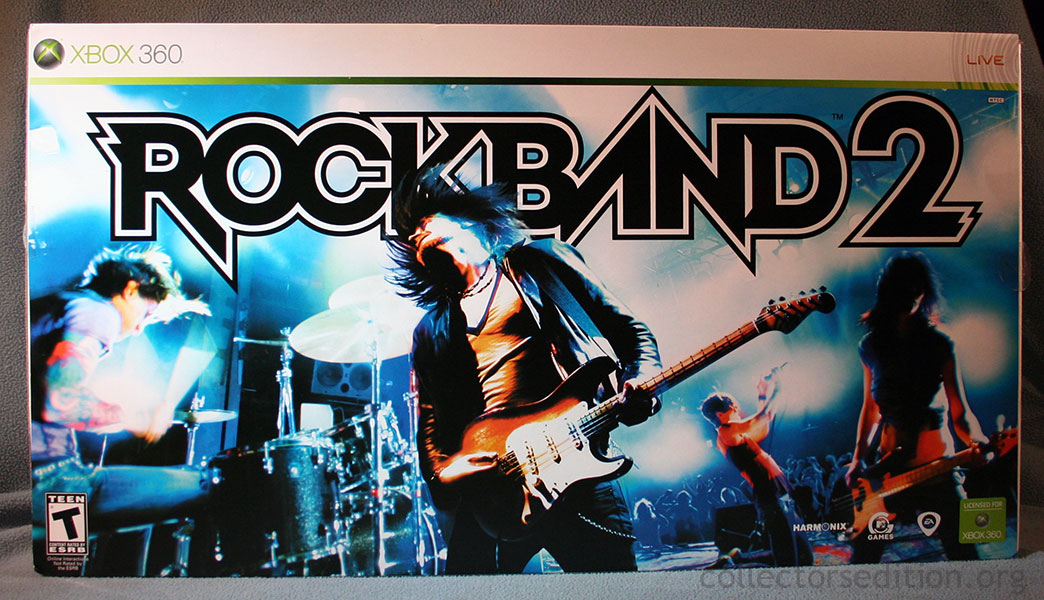 Rock band 2 special edition bundle: xbox 360 game rock band 2.
