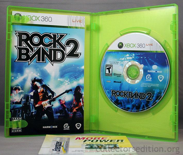 Collectorsedition. Org » rock band 2 special edition (360) [ntsc].