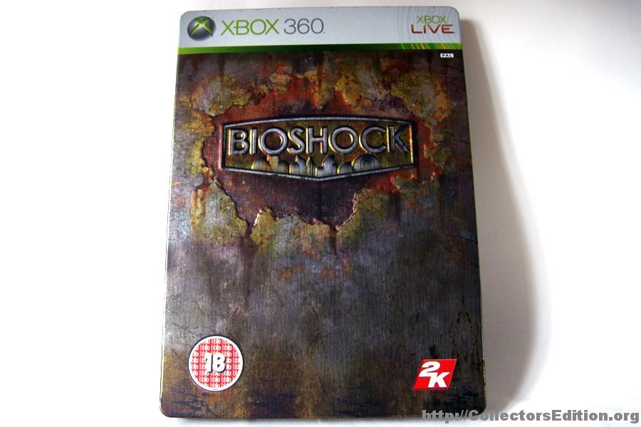 Collectorsedition Org 187 Bioshock Steelbook Edition 360 Pal
