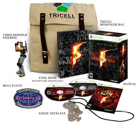 Resident Evil 5 Collector's Edition NTSC Xbox 360