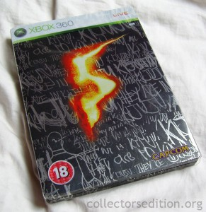 Resident Evil 5 Collector's Edition SteelBook (Xbox 360) [PAL]