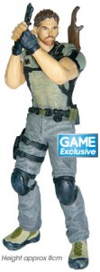 Resident Evil 5 Chris Redfield 8cm Figurine for GAME Pre Order Customers in the UK