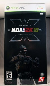 NBA 2K10 Tenth (10th) Annaversary Edition (Xbox 360) [NTSC]