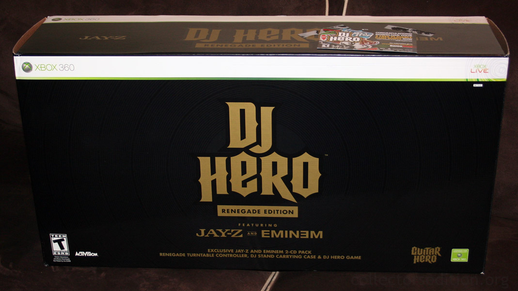 Dj hero renegade edition (xbox 360): amazon. Co. Uk: pc & video games.