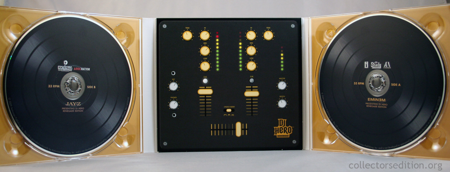Collectorsedition. Org » dj hero renegade edition (360) [ntsc].