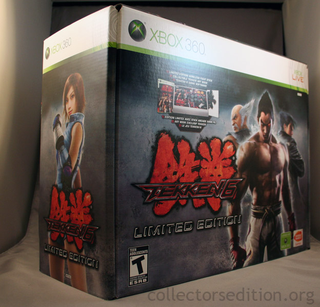 Collectorsedition Org Tekken 6 Limited Edition 360 Ntsc