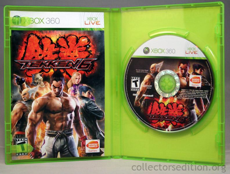 Collectorsedition Org Tekken 6 Limited Edition 360 Ntsc