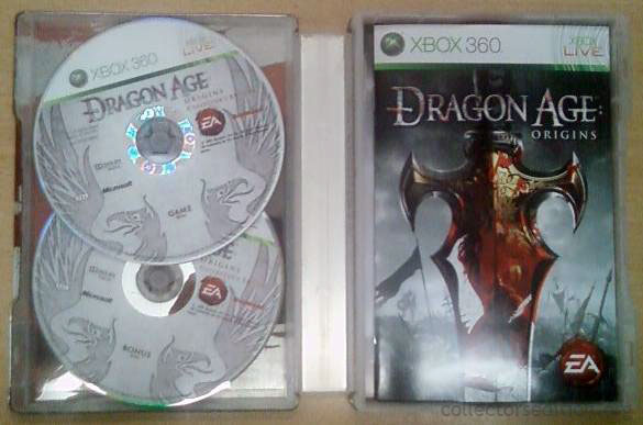 Dragon age: origins collector's edition includes soundtrack ps3.