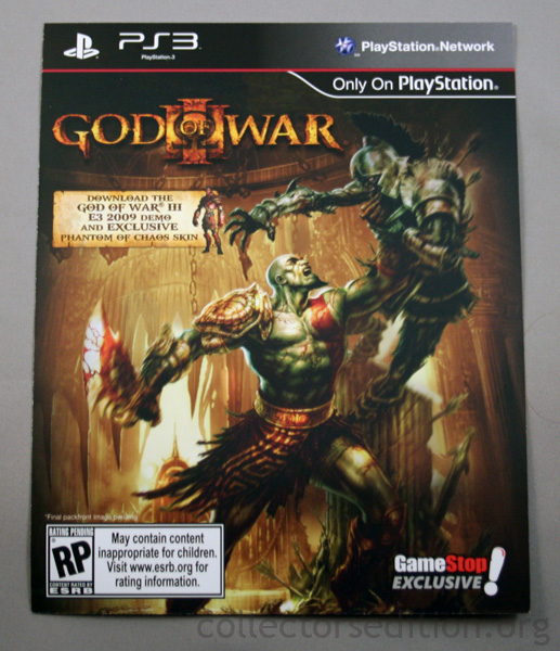 CollectorsEdition org » God of War III Ultimate Edition (PS3