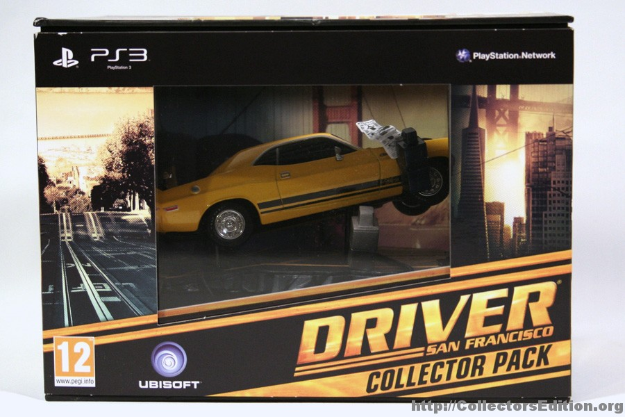 Collectorsedition Org Driver San Francisco Collector Pack Ps3 2