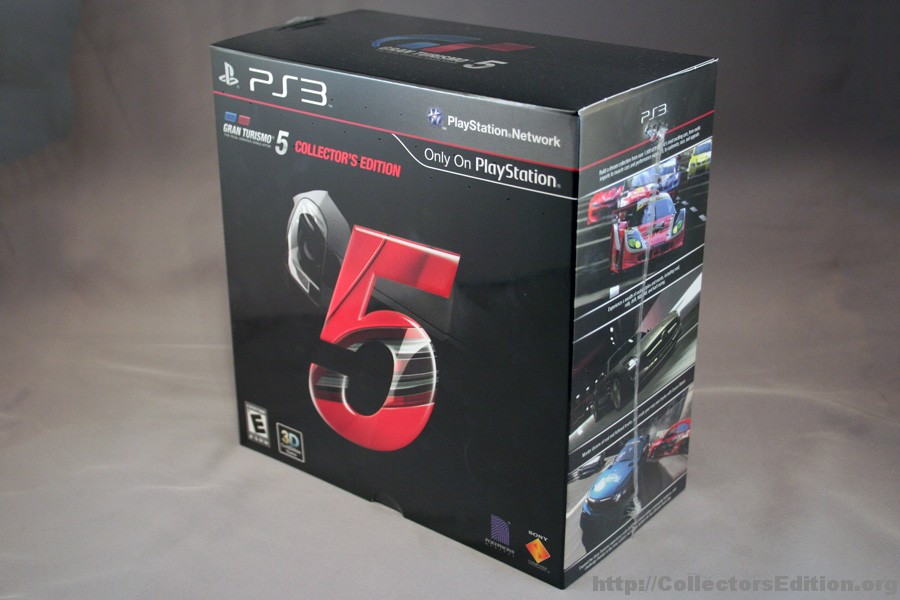 gran turismo 5 collector s edition. Black Bedroom Furniture Sets. Home Design Ideas