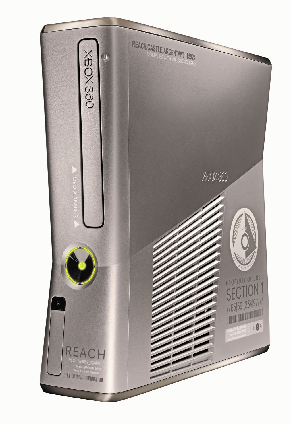 Halo reach limited edition slim xbox 360 console