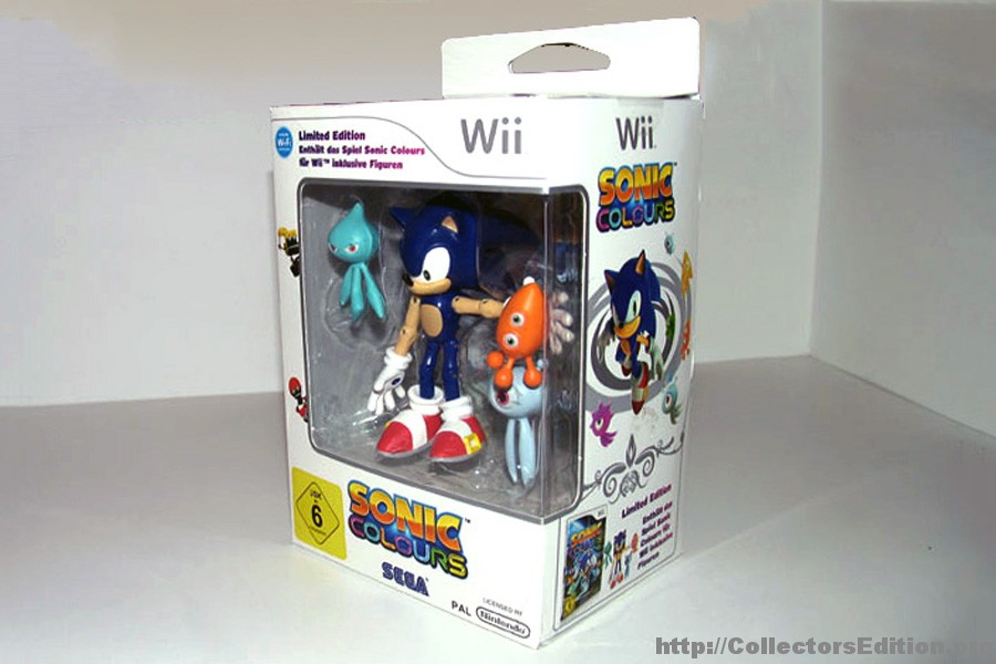 CollectorsEdition.org » Sonic Colours Limited Edition (Wii ...