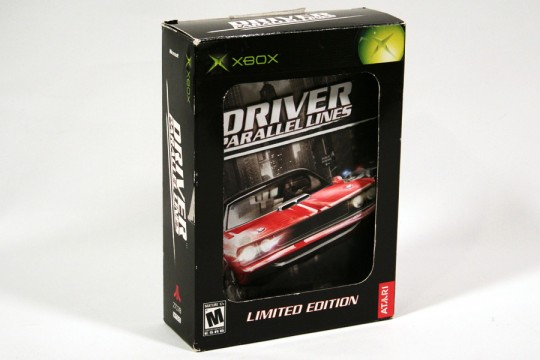 Driver Parallel Lines Limited Edition (Xbox) [NTSC] (Atari)
