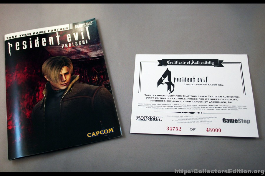 Collectorsedition. Org » resident evil 4 premium edition (ps2) [ntsc].