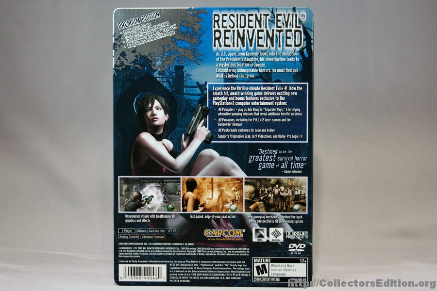 CollectorsEdition org » Resident Evil 4 Premium Edition (PS2) [NTSC]