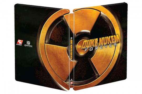 Canada exclusive Duke Nukem Forever SteelBook (PC) (PS3) (Xbox 360) [NTSC] (Futureshop) (2K Games)