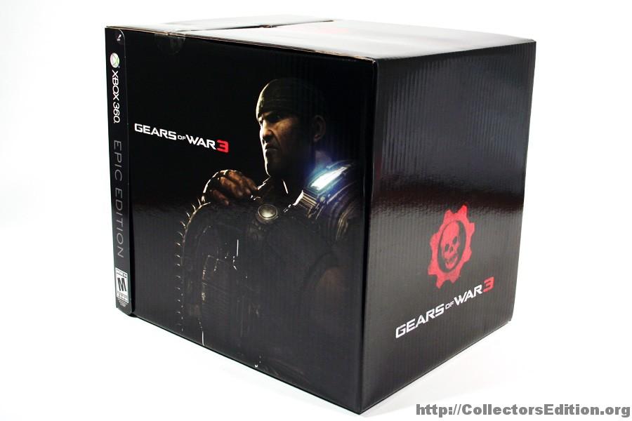 Une édition epic pour gears of war 3.