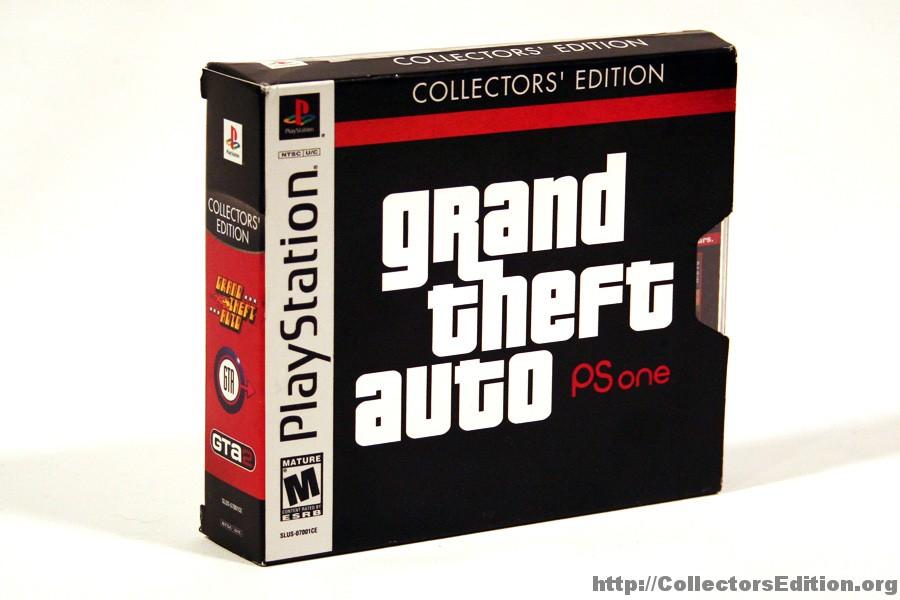 grand theft auto collectors edition ps1