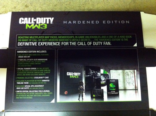 Call of Duty Modern Warefare 3 (SteelBook) Hardened Edition (Xbox 360) {PS3) [PAL] (Activision) (Infinity Ward)