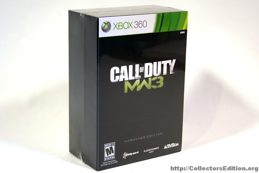 Call of duty: black ops (hardened edition) (2010) xbox 360 box.