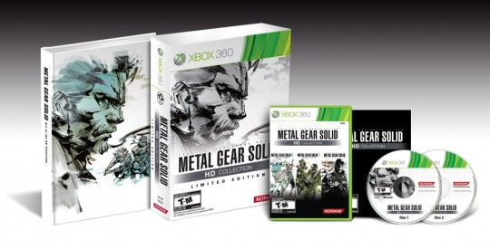 Metal Gear Solid HD Collection Limited Edition (Xbox 360) [NTSC] (Konami)