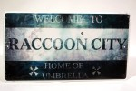 Resident Evil Operation Raccoon City Metal Sign Capcom Pre-Order Bonus