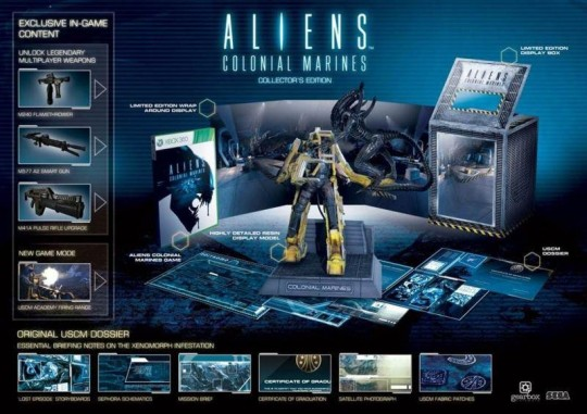 Aliens Colonial Marines Collector's Edition Xbox 360