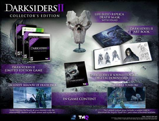 Darksiders II Collector's Edition Xbox 360 / PS3