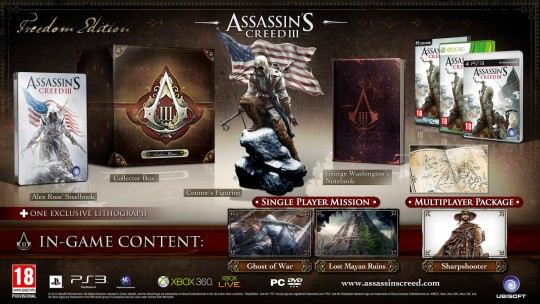 Assassin's Creed III Freedom Edition [PAL]