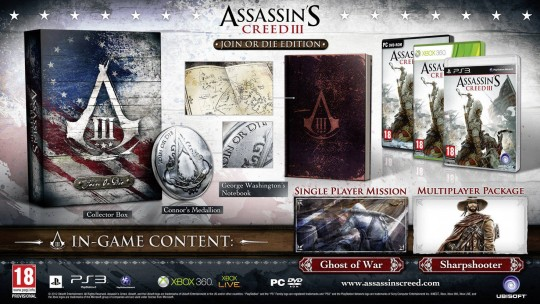 Assassin's Creed III Join or Die Edition [PAL]