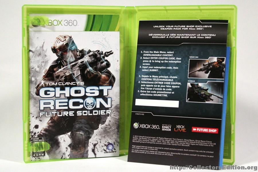 Room Cover Ghost Recon Ghost Recon Future Soldier Wii: CollectorsEdition.org » Tom Clancy's Ghost Recon Future