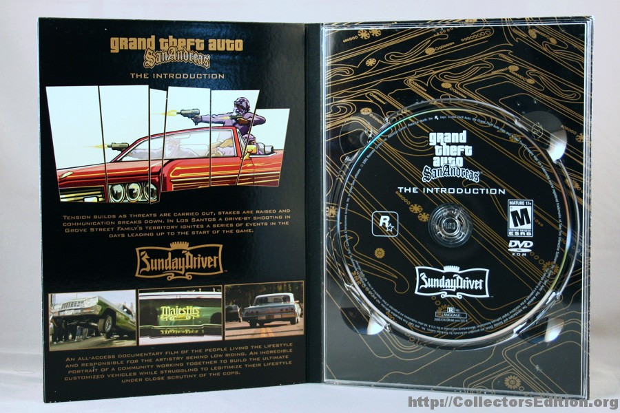 CollectorsEdition.org » Grand Theft Auto San Andreas ...