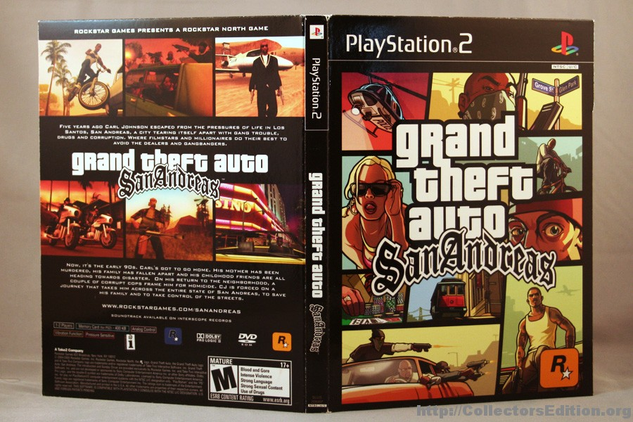 gta san andreas ps2 iso europe