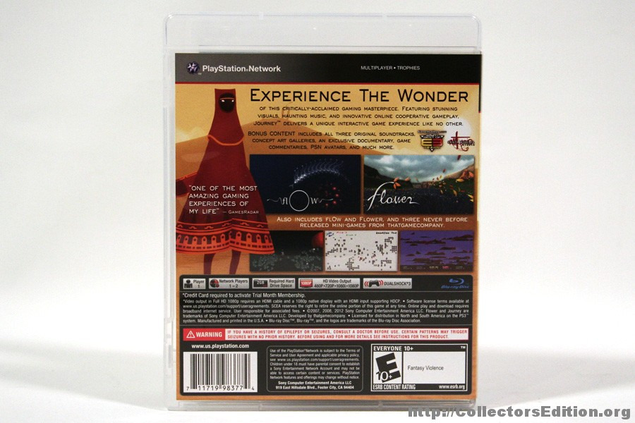 CollectorsEdition org » Journey Collector's Edition (PS3) [1]