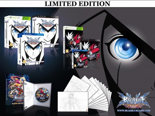 BlazBlue Continuum Shift EXTEND (Limited Edition)