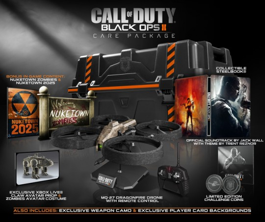 Call of Duty Black Ops II Care Package Edition (PS3/Xbox 360) (Activision)