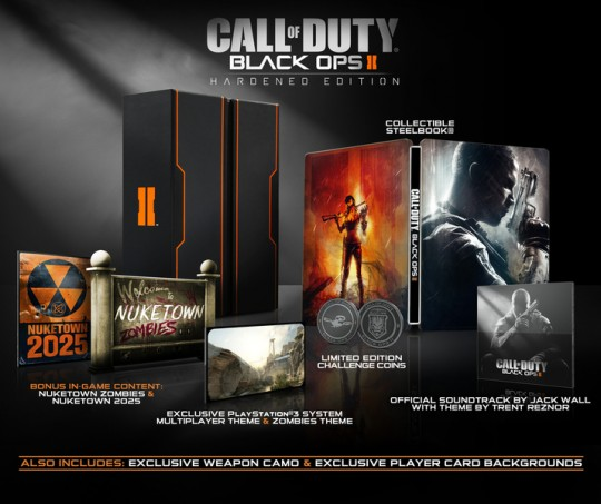 Call of Duty Black Ops II Hardened Edition (PS3/Xbox 360) [NTSC] (Activision)