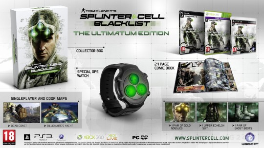 Splinter Cell: Blacklist The Ultimatum Edition