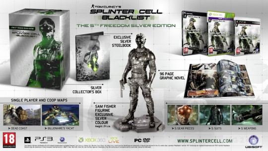 Splinter Cell: Blacklist The 5th Freedom Silver Edition